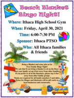 PTSO Beach Blanket Bingo Night!