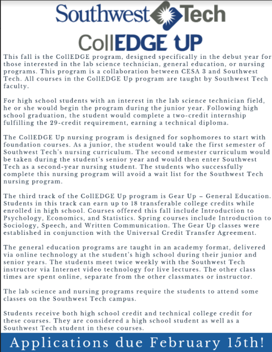 CollEDGE Up program