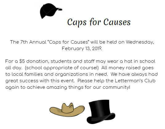 Caps for Causes