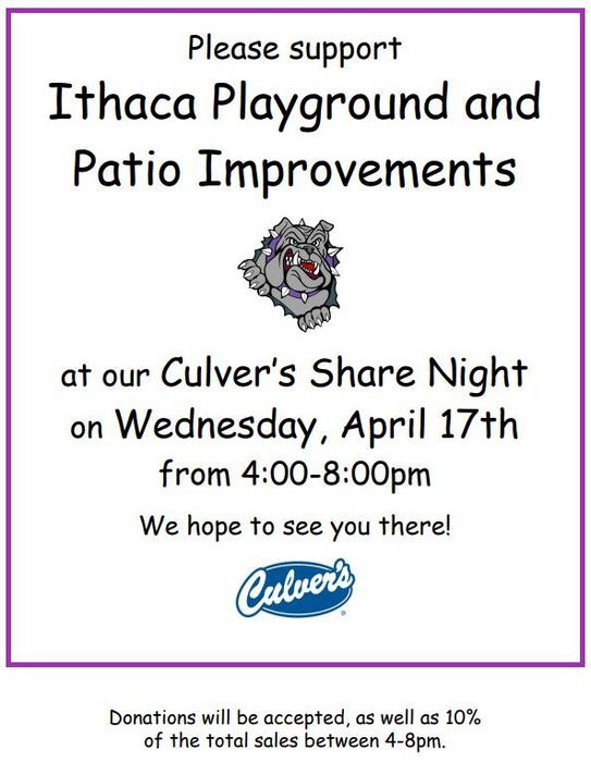 Playground and Patio Improvement Share Night