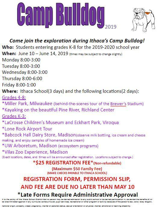 Camp Bulldog Information