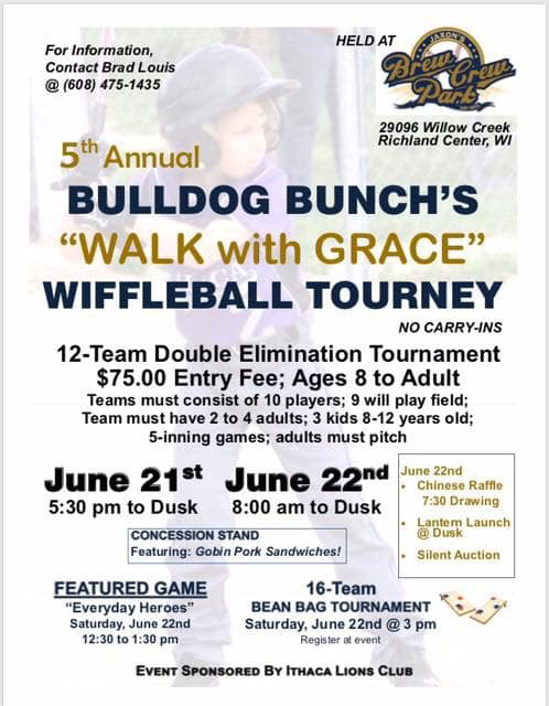 Bulldog Bunch Wiffle Ball