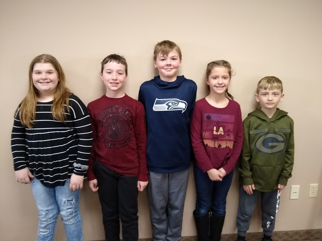 Elementary Battle of the Books team 2020