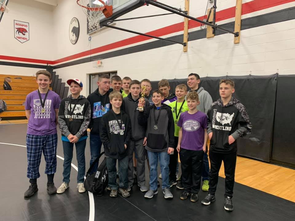 Middle School Wrestling Conference Champions