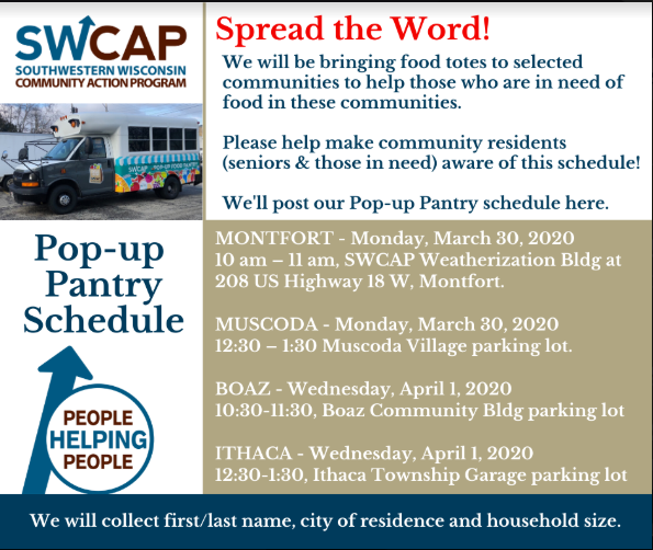 SWCAP Pop-Up Pantry