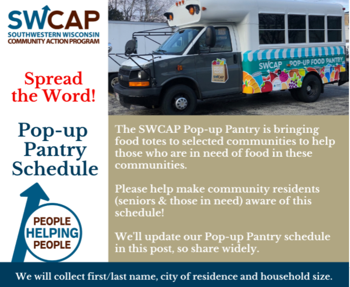 SWCAP Pop-Up Pantry Food Distribution