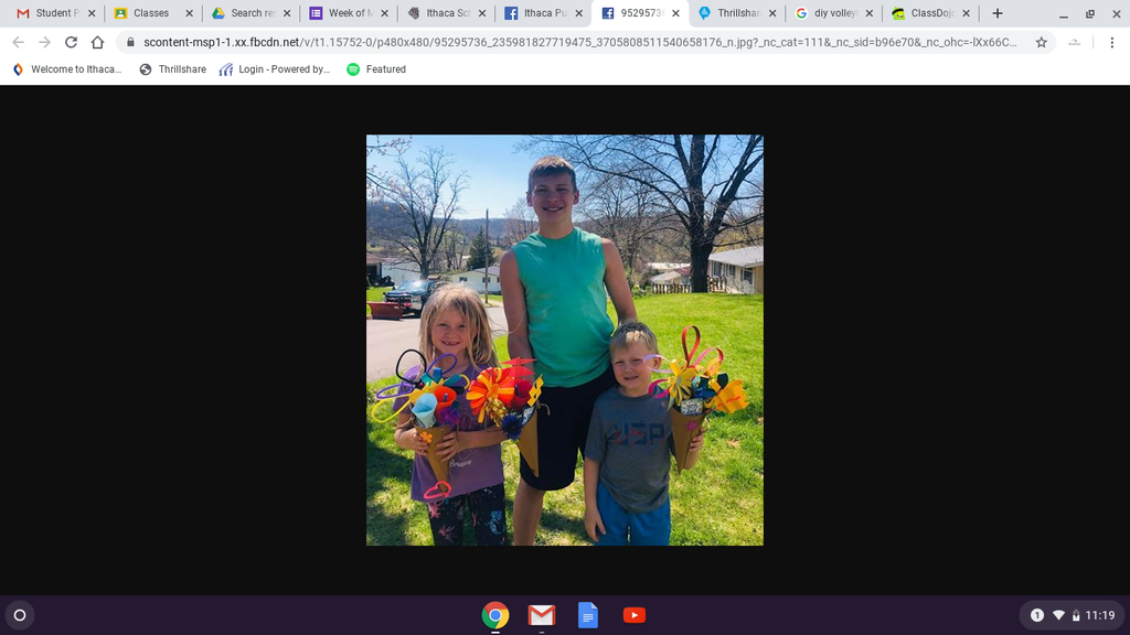 Zander, Rainey, and Maddix delivered May Day cheer