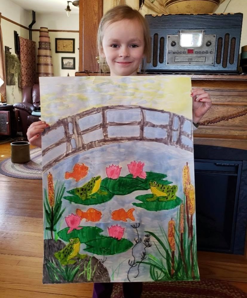 Addyson's Water Lillies