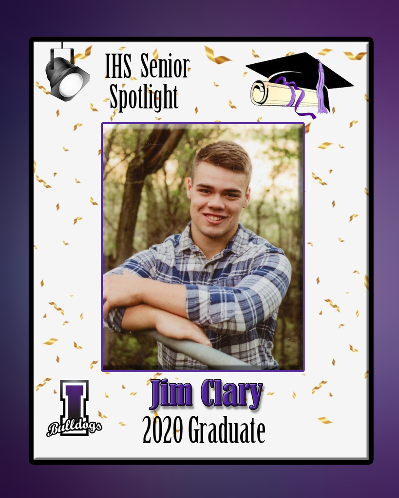 Jim Clary - IHS Class of 2020