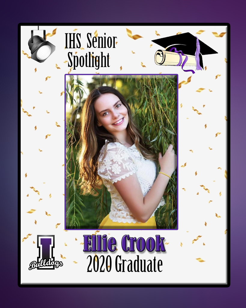 Ellie Crook - IHS Class of 2020