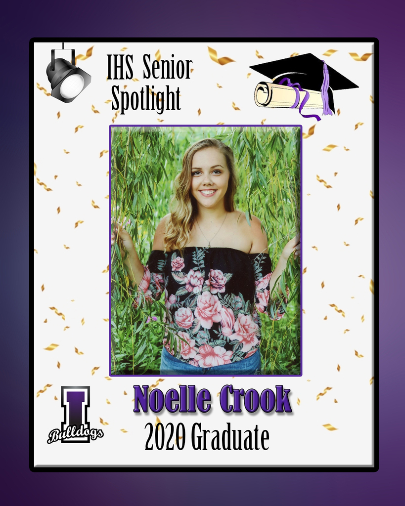 Noelle Crook - IHS Class of 2020