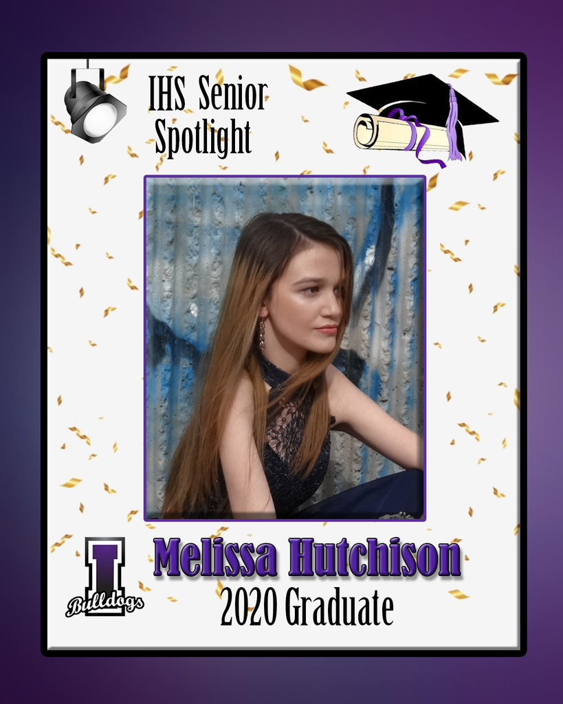 Melissa Hutchison - IHS Class of 2020