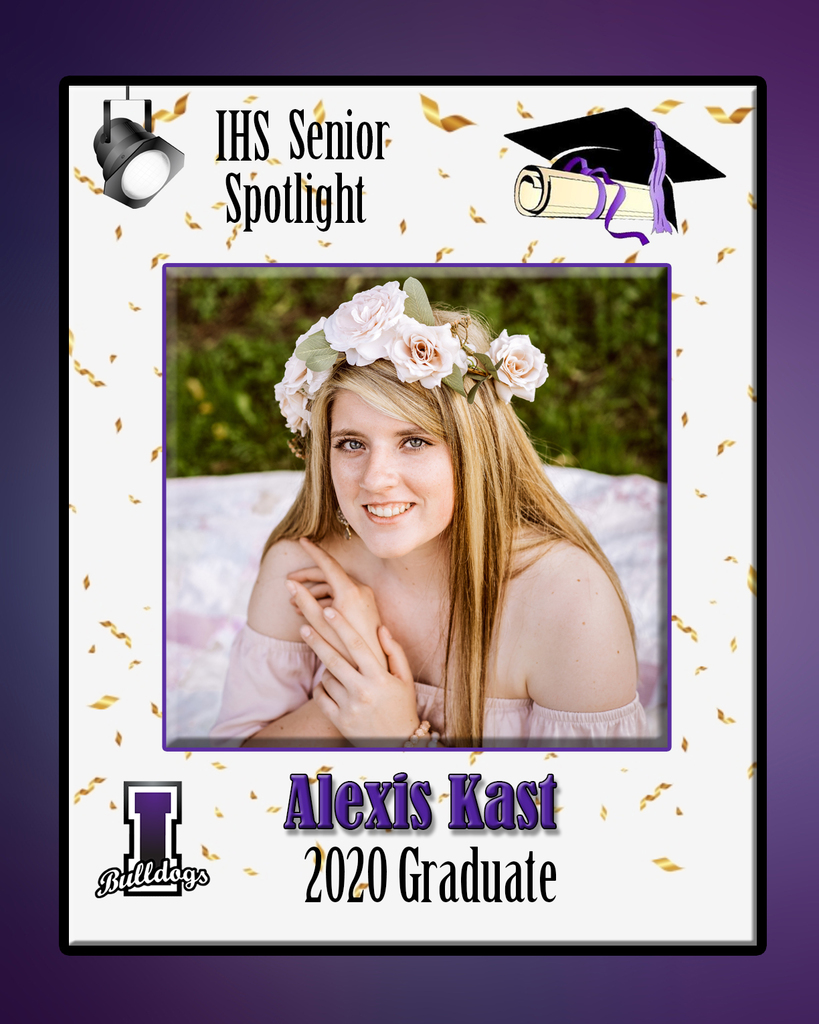 Alexis Kast - IHS Class of 2020