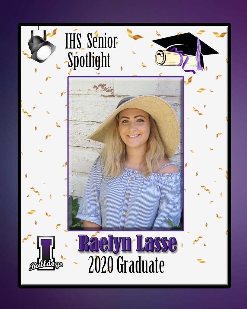 Raelyn Lasse - IHS Class of 2020