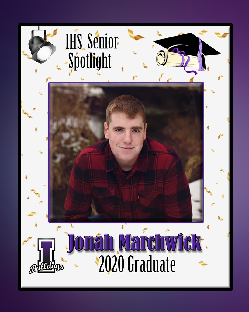 Jonah Marchwick - IHS Class of 2020