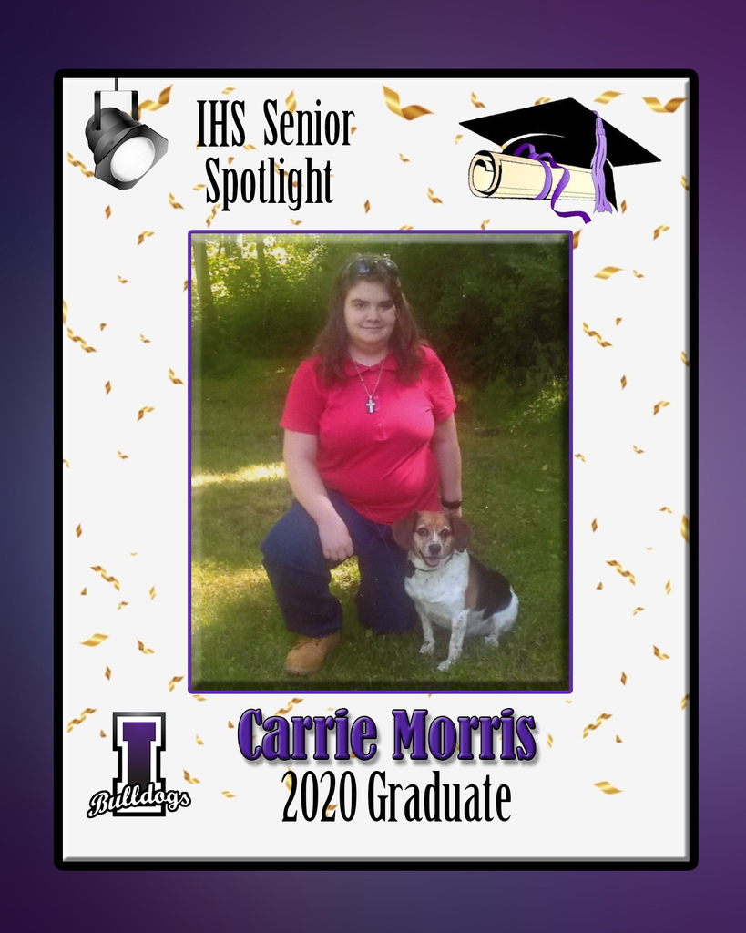 Carrie Morris - IHS Class of 2020