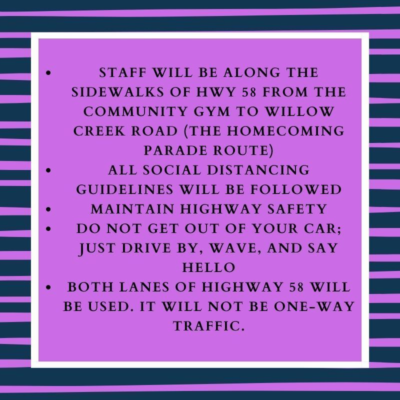 Send off guidelines