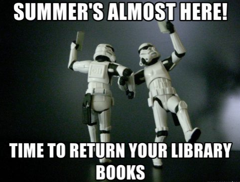Please return your library books