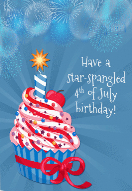 Have a Star Spangled Birthday!
