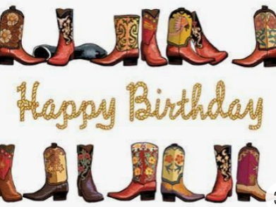 Kick up your heels for a birthday!