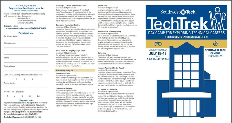 Southwest Technical College opportunities
